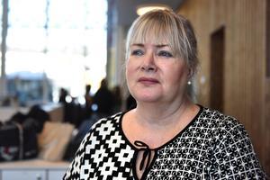 Lena Barke, lärare i svenska, berättar om nya skolan.