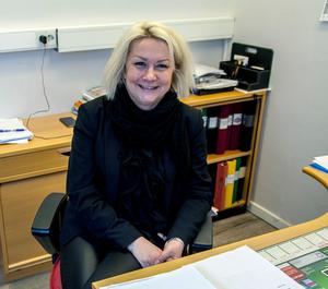 Ameli Engström, rektor för Vuxenutbildningen i Härnösands kommun.