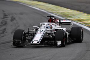 Marcus Ericsson har bara ett formel 1-race kvar innan han byter till Indycar. Foto: Sauber Motorsport