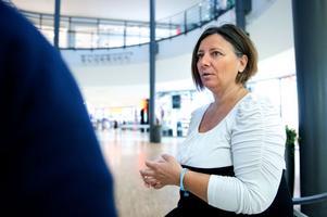 Länsordförande Marie Edenhager (SD) är inte överraskad över partiets opinionsframgångar.