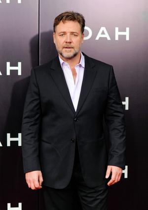 Russell Crowe på den amerikanska premiären av