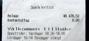 Sista gången Björn tog ut medicin hamnade notan på 48 476 kronor. Sammanlagt har han betalat 270 000 kronor för sin behandling.