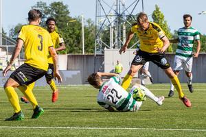 Hemmamötet med IK Frej är Holms hittills enda start i VSK-tröjan. Foto: Anders Forngren / BILDBYRÅN