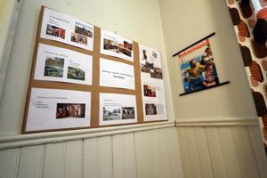 Utställning med byalagets olika aktiviteter.