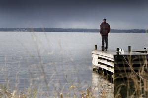 Vattenståndet i havet är ett exempel som skribenten tar upp. Arkivbild