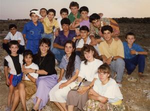 Bilden som togs 1989 i  staden Hazak (Idil), sydöstra Turkiet. Foto: Okänd