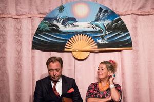 """Lasse Forss och Eva Ahremalm i """"Ingen konst""""."""