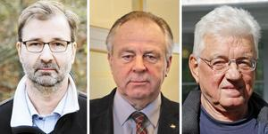 Stig Mörtman, Jan Näsholm och Stig Zettlin – ni är inte politiker nu, stig åt sidan! skriver insändaren.