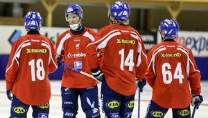 Sista träningen med gänget är gjord. Spelare som Jonas Edling och Daniel Välitalo har spelat tillsammans med Daniel Liw sedan 2001.