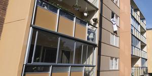 Foto: Stina Stjernkvist / TT   Bilden är en arkivbild och visar inte det hus som kontrollerades av polisen.