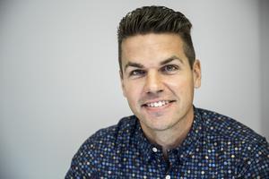 Mikael Hedh tror på positiva effekter i Borlänge centrum.