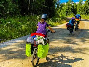 Underlaget var varierande på färden mellan Malmö och Dala-Järna. Foto: Mikael Strandberg.