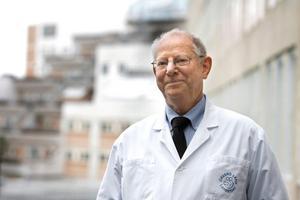 Läkaren Lennart Löfgren har avlidit. Foto: Per Knutsson/NA arkiv