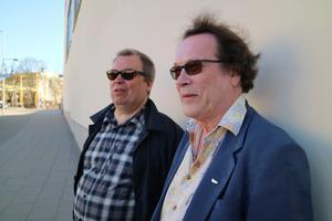 Klas Qvist och Mikael Ramel har precis släppt en ny skiva. Bild: Petra Holmstedt