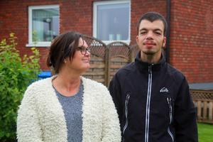 Susanne Englund har kämpat hårt för att sonen ska få en sysselsättning där han får arbeta med kroppen.