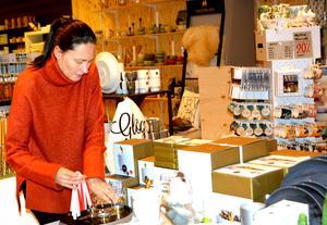 Johanne Svanberg driver butiken Curri i centrala Härnösand.