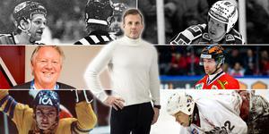 Conny Strömberg har med sju ikoniska spelare på listan. Foto: Peter Holgersson/Bildbyrån.