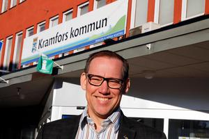 Kommundirektör Peter Carlstedt får nu Inger Bergkvist som sin närmaste medarbetare.