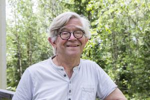 Staffan Michelson värnar om miljön och orten och har många framtidsvisioner för Åsberget.