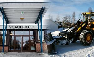 Signaturen KH klagar på att det inte är bättre plogat på vägen till Vibackeskolan. Bild: Pontus Hellsén / Arkiv
