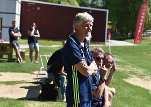 Flicklandslagets förbundskapten Pia Sundhage njöt av att vara på Norrlandslägret i Junsele.