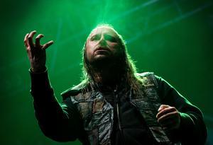 Lars-Göran Petrov i bandet Entombed A.D. som gästar Pipeline i höst. Bild: Claudio Bresciani/TT