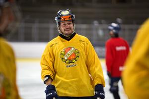 Mikael Olsson blev Falu BS matchvinnare i supercupens semifinal.