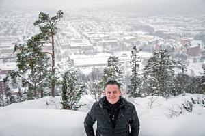 I 34 år har Ulf Steringer väntat på en berg- eller linbana upp till Norra berget.