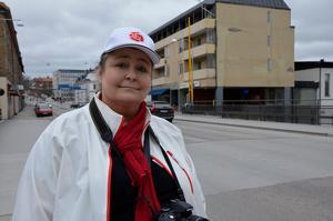 Anci Sköld menade att värmen kom från deltagarna i förstamajtåget.