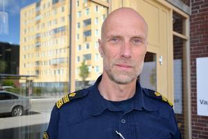Kanslichefen Tomas Nyberg och polisen i Sundsvall expanderar.