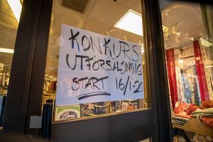 Efter Linneskåpets konkurs är en utförsäljning planerad till den 16 januari.