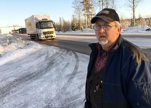 Sten Westerlund befarar att en allvarlig olycka kommer att inträffa om inget görs