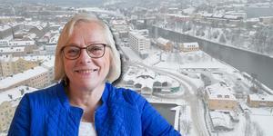Ann Westerberg (L), ledamot i stadsbyggnadsnämnden och kritisk till idén om högt hotell vid Marenplan.