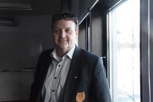 Klubbdirektör Peter Hermodsson är hoppfull inför det beslut som ska fattas när det kommer till en eventuell multi-arena.