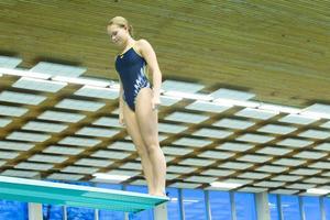 Emma Johansson lägger ned sin satsning på fem meter och högre på grund av de förändrade träningsmöjligheterna. Från 2019 kan tre meter vara den högsta höjden att hoppa från i Västerås.