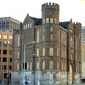 Igenbommat hur i centrala Detroit. Foto: Werewombat