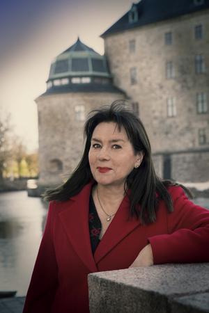 Anna Jansson är född och uppvuxen i Visby,  numera bosatt i Örebro med sin familj.  Foto: Leif Hansen