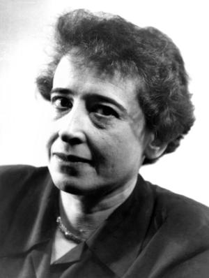 Hannah Arendt 1949. Foto: Fred Stein