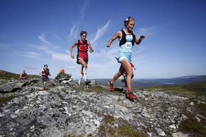 Emelie Forsberg, Härnösand, vann söndagens fjällmaraton på rekordtiden 4.30,27.