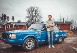 Elias Lundberg. Foto: Elias Lundberg Rally