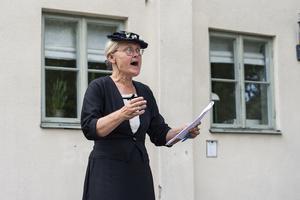 Karin Hästö, kultursekreterare i Säters kommun, har ansvarat för dramatiseringarna sedan år 2002.
