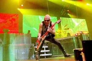 Scorpions i Göransson Arena december 2012.