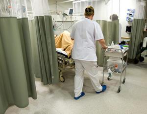 Skribenten är oerhört tacksam för vården på lungmottagningen. Bild: Bertil Ericson/TT