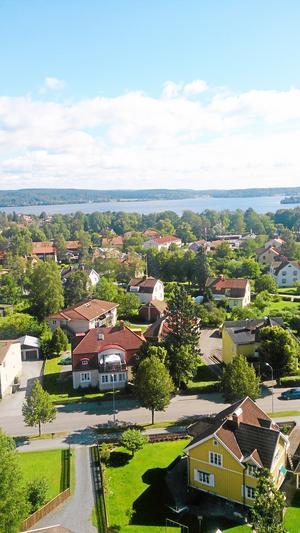 Utsikten från vattentornet är bedövande, här mot sjön. Arkivfoto: Mihai Claudiu Iulian/Sandå