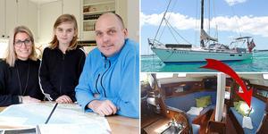 Här är Lindesberg-familjen som är redo för sitt livs äventyr. I 14 månader ska Helena, Vincent och Fredrik leva ombord på sin nyinköpta segelbåt och segla runt i Karibien och kanske även segla till Australien.
