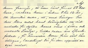 Kyrkoherden har väckt en motion och på rådhuset i Härnösand hålls ett möte den 19 september år 1900. Då beslutas det att länets första sinnesslöanstalt ska ligga i Sollefteå.  Man konstaterar att