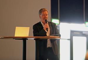 Åke Norström tackades av, efter fyra år som LIF-ordförande, under onsdagens årsstämma.