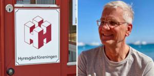 Lars Bjurström, vice ordförande i Örebro-Lekebergs Hyresgästförening.