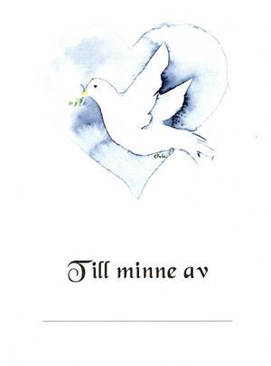 Den lilla minnesbroschyren rymmer uppgifter som längd och vikt samt vilka som fanns med som stöd under tiden på USÖ:s förlossningsavdelning.