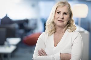 """""""Vi är en mötesplats för alla Sveriges bilister"""", säger Heléne Lilja, chef kommunikation och samhälle på M Sverige."""